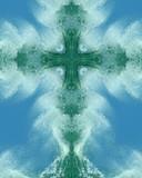 ocean spray cross poster
