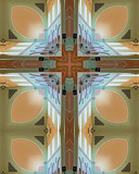 abbey ceiling cross poster