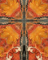 petrified wood cross3