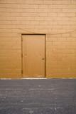 back alley door poster