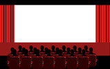 cinema - red room poster