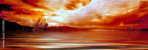 sunrise mono lake