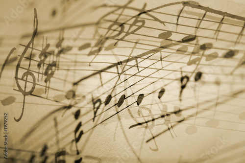 musical notation background
