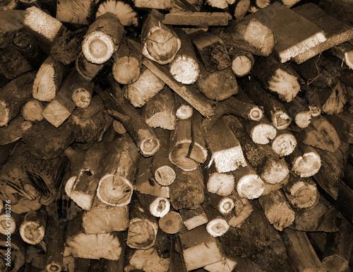 wood bundle background