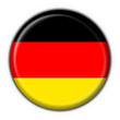 bottone bandiera tedesca - germany flag