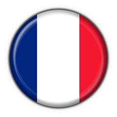 bottone bandiera francese - france flag