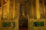 myanmar, mandalay: pagoda poster