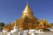 myanmar, bagan: shwezigon pagoda