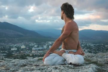 hatha-yoga: padmasana #2