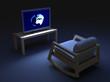 tv in night
