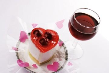 red wine with dessert