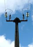 transmission line tower poster