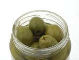 olives in jar poster