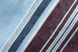 real macro of cotton fabric poster