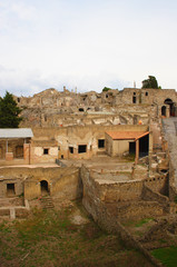 italian town pompeii view on ruins #2
