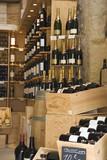 wine store interior poster