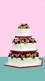 wedding cake.gift.decoration.celebration.occassion poster