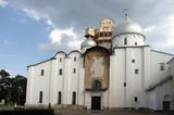 saint sophia cathedral , velikiy novgorod, russia poster