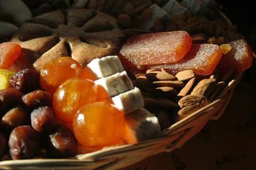 fruits secs et confiserie