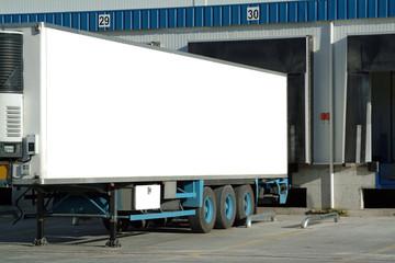 trailer of truck