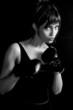roleta: a female boxing enthusiast