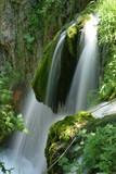 lush waterfall poster