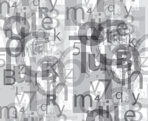 buchstaben zahlen letters numbers