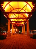 walkway by night poster