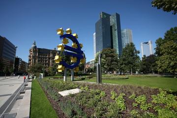 euro zeichen frankfurt