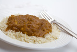 chicken curry and rice poster
