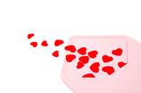 envelope full of hearts poster