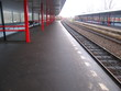 empty train station