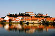 old ptuj - view from other drava shore