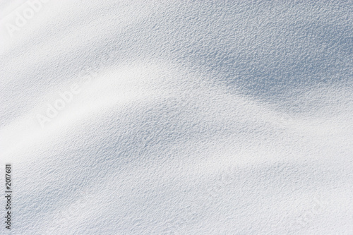 Foto op Canvas Poolcirkel fresh snow in sunshine