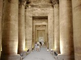 egyptian columns poster
