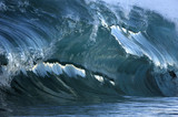 giant wave breaking poster
