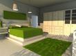 interior house - bedroom