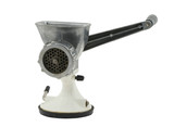 old manual mincer on pure white background poster