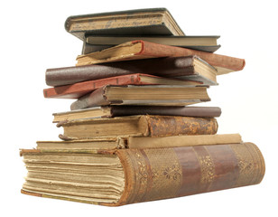 old isolated books