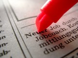 neuer job? poster