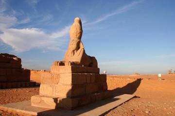sphinx du temple d'harmakis - wadi el seboua