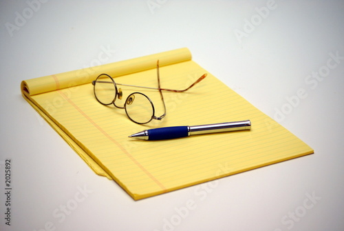 poster of yellow legal pad