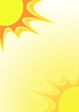 sunshine illustration poster