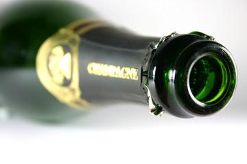 bouteille de champagne - botella de champaña