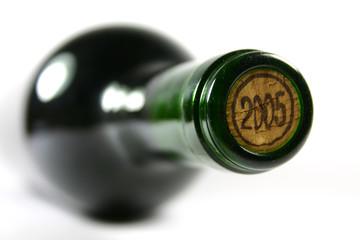 bouteille de vin rouge - botella de vino tinto