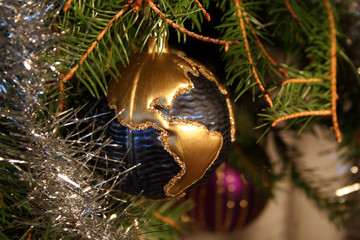new year tree decoration