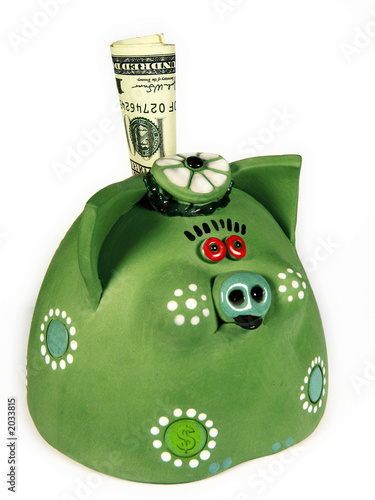 money-pig(green)