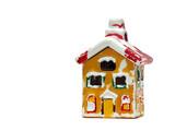 little ceramic house poster