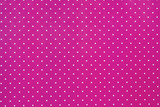 abstract pink background with white dots poster