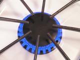 gas burner close up - 1 poster